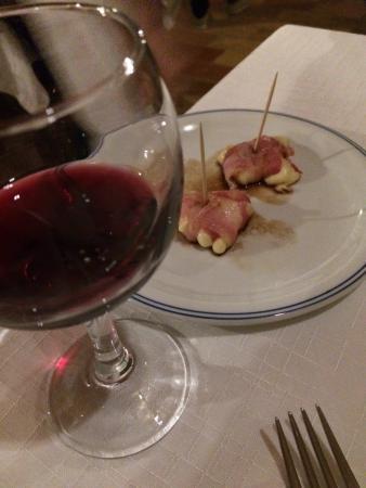 Ristorante L'Ulivo: Formaggio, Pancetta e Balsamico