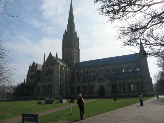 Vista da Catedral a partir do The Close