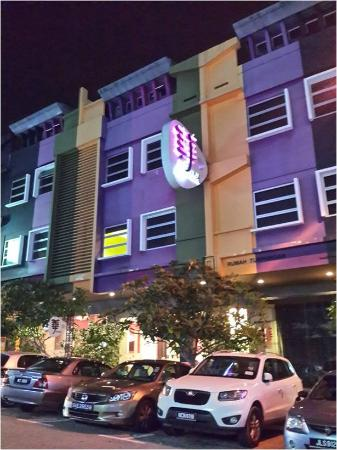 J Hotel: Front view of the hotel
