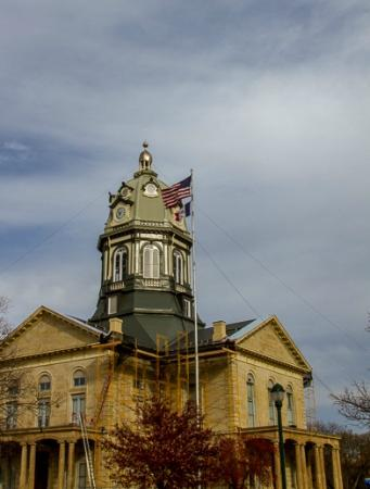 Winterset, IA: The Courthouse