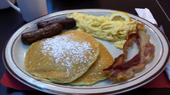 Metro Cafe Diner: My Breakfast Plate