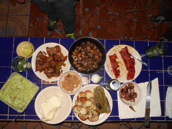 Planet Hostel: Ingredientes para los tacos de la fiesta