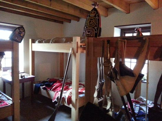 Bunks at the Old Barracks Museum