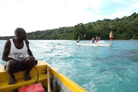 Tetepare Island Eco-lodge: turlte rodeo