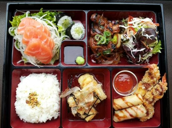 bento box chicken teriyaki picture of mira japanese manly tripadvisor. Black Bedroom Furniture Sets. Home Design Ideas