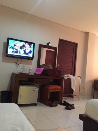 Bakung Sari Resort and Spa : A room Spacious and comfortable
