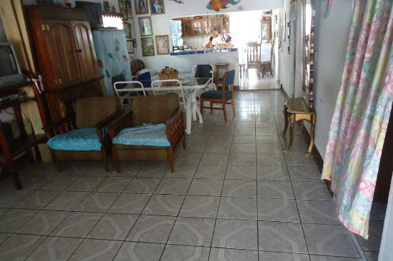Casa Familia Castro: Sala de estar