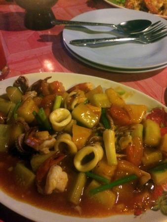 Rimhad Seafood: Sweet and sour veggies