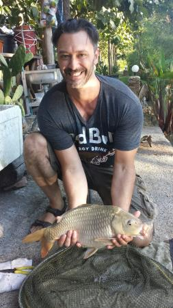 Pai Piranha Fishing Park : One of our catch!