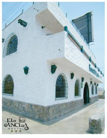 Hostal El Ancla: Fachada