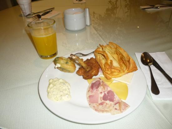 San Agustin International Hotel: Desayuno