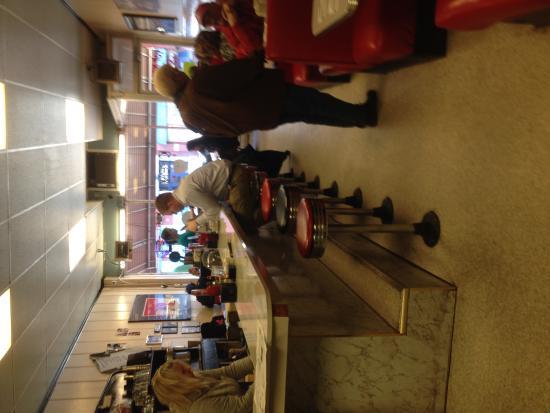 Top notch cafe: Interior