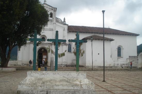 Zinacantan, Meksyk: Iglesia de Zinacantán