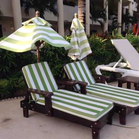 Mini Lounge Chairs At The Kiddie Pool Picture Of Azul