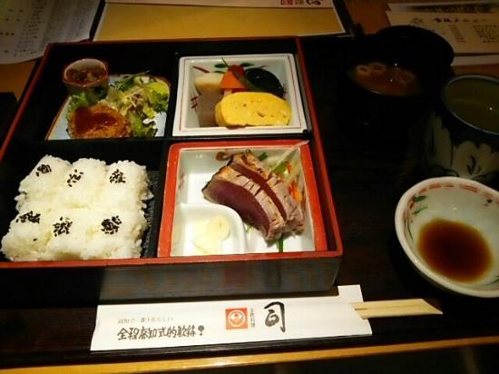 Tsukasa Kochihonten: ランチ定食