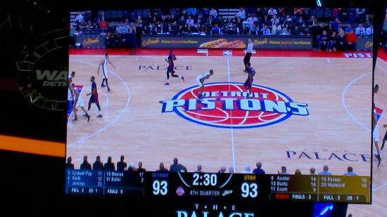 Palace of Auburn Hills: Pistons vs Jazz