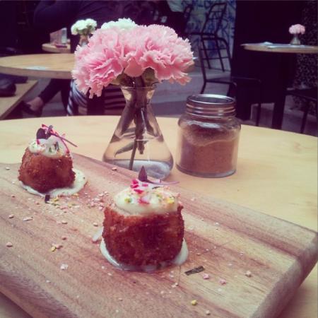 Devon Cafe: Eel Croquettes