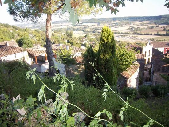 Penne d'Agenais, Fransa: Vues sur le village médiéval et la campagne du Lot et Garonne