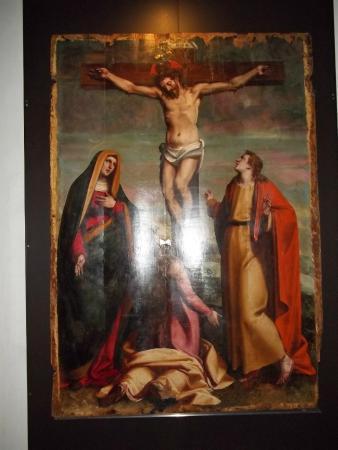 Museo Diocesano Chiostro dei Canonici di San Lorenzo : gesù in croce