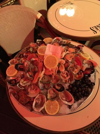 Les Brasseries Georges Uccle : Misto di crostacei