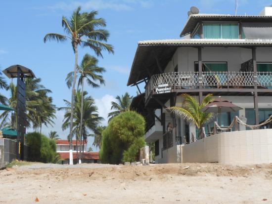 Pousada Maracabana : vista fachada entrada