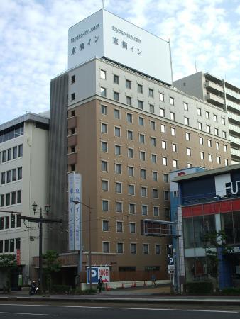 Toyoko Inn Nagasaki Eki Mae: ホテルの外観