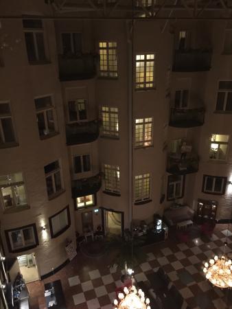 Best Western Hotel Bentleys: View from the window