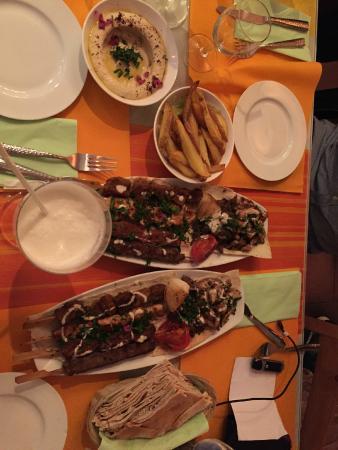Tassnim Orient: Mixed Kebabs