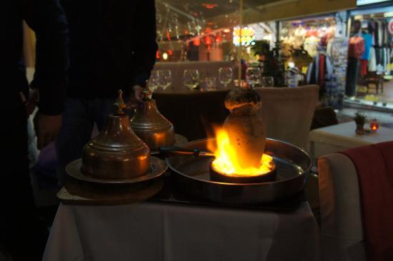 Flaming Dinner for 2
