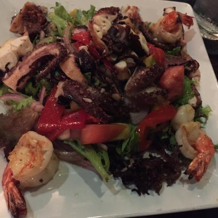 Casa di Pepe: Octopus & shrimp salad. Absolutely the best you can get anywhere. The octopus was so tender I co