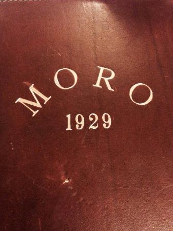 Trattoria Al Moro: Cardápio Al Moro