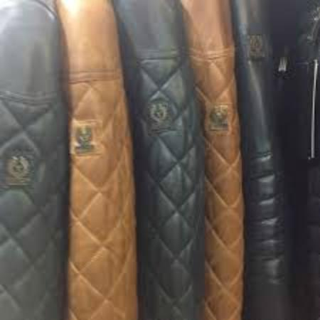 Belstaff Leather jackets in Kusadasi Leather store