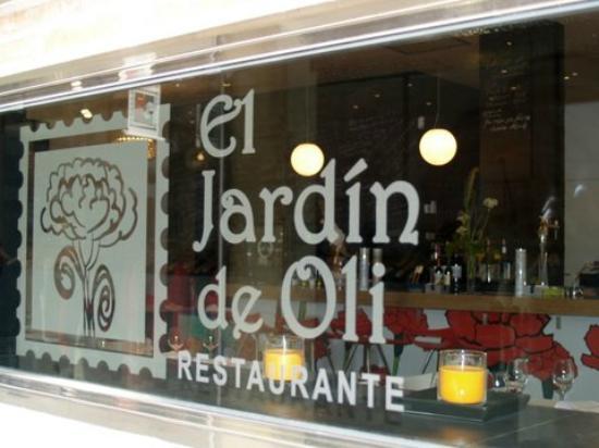 restaurante el jardin de oli en murcia con cocina