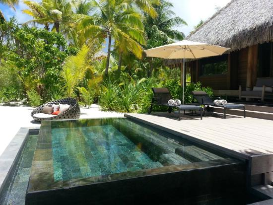 The Brando Villa Infinity Plunge Pool