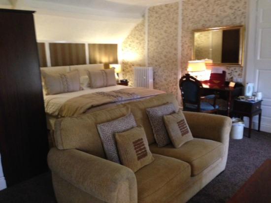 Hardwicke Hall Manor Hotel: Family room