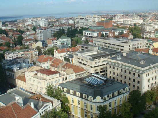 Вид из номера Hotel Bulgaria