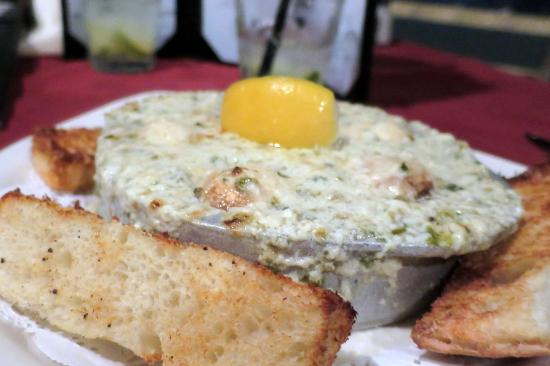 Grille At Riverview: Escargot awesomeness!...and those bread pieces! MORE!