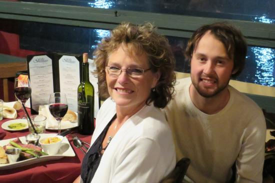 Grille At Riverview: Birthday Boy and mom special times!