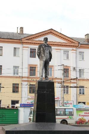 Monumnet to Mayakovskiy
