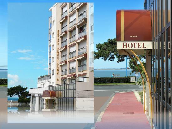 Inter-Hotel Foncillon : façade de l'hôtel