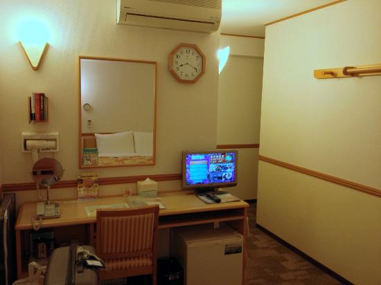 Hotel Sunroute Tokuyama : Room view- 2
