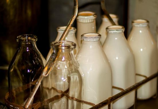 Knight Museum and Sandhills Center: Milkman's at the door