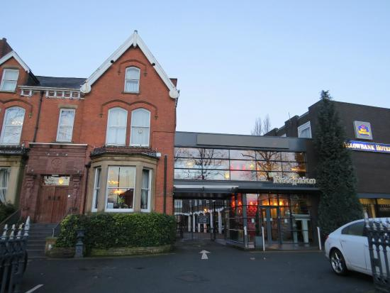 Hallmark Inn Manchester South: Fachada