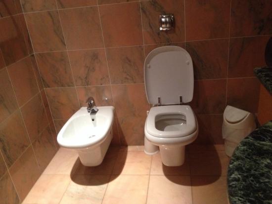 Laico Ouaga 2000 Hotel: Clean toilet area