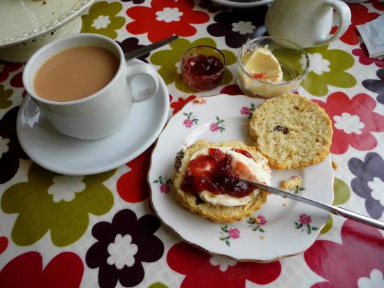 The Manor House Cafe: Cream Tea