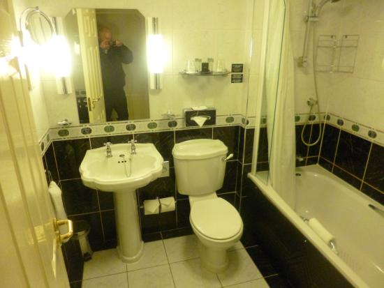 Malone Lodge Hotel & Apartments: The clean and elegant bathroom.