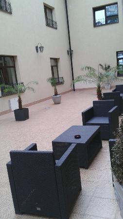 Hotel Trianon: Patio