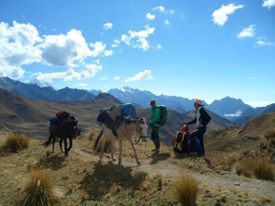 Salkantay Chillca trek - Picture of Andean Adventures Peru ...