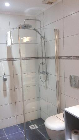Hotel Trianon: Clean bathroom