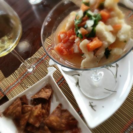 Entre Bocas Fusion Bites: Caribbean Ceviche